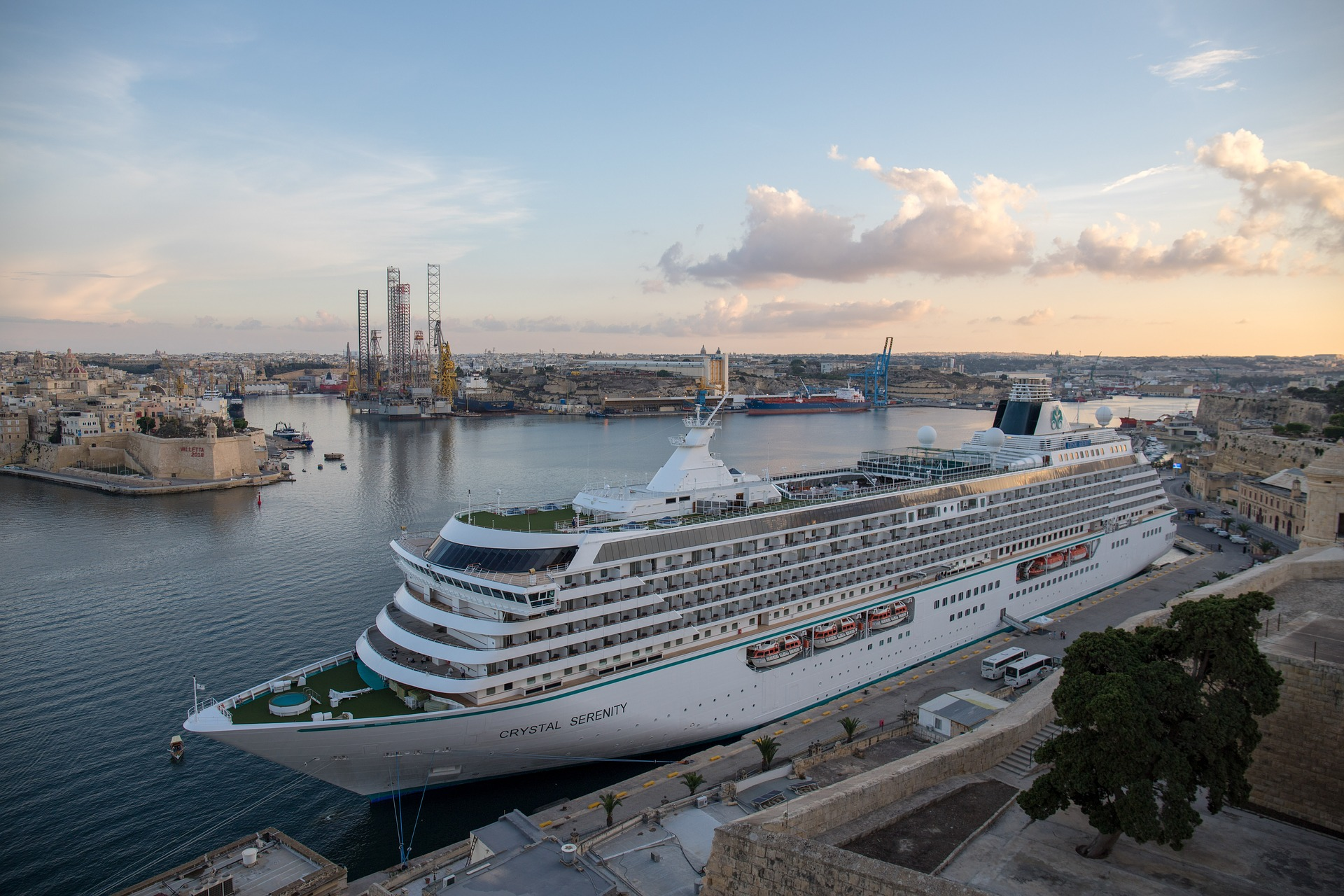 Cruise Ship Valletta