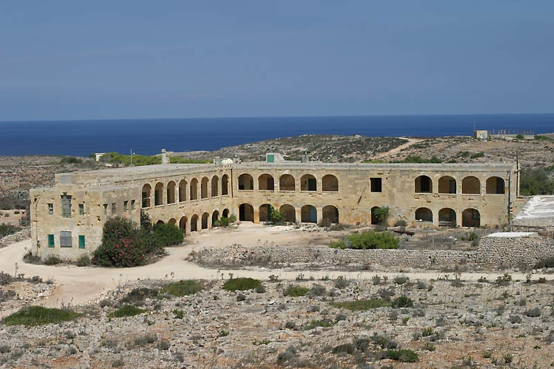 Old Army Barracks, Comino