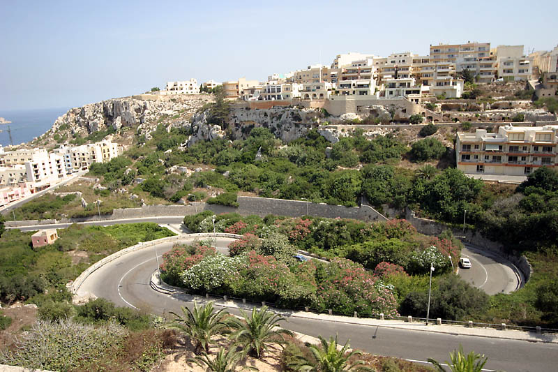 Road to Mellieha Township